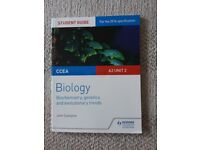Biology and Chemistry A2 Unit 1 & 2 student Guides