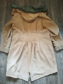 Womens coats, leather and suede