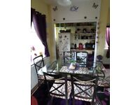 Dining tables and 6 chairs REDUCED