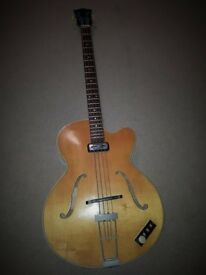 HOFNER 500/3 RARE 1960's BASS VERY GOOD CONDITION - FREE DELIVERY MIDLANDS
