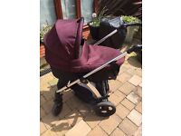 Excellent condition mamas and papas solar2 travel system