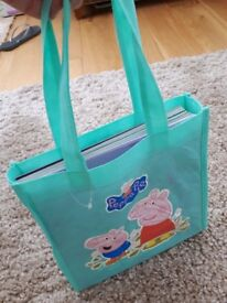 Peppa Pig story book bag collection