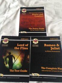 GCSE English study guides