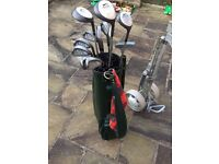 Slazenger XTC Golf Clubs Full set (bag and trolley)