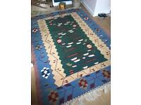 Large killim rug