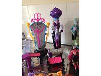 Monsterhigh dolls collection