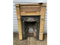 Antique Fire Place