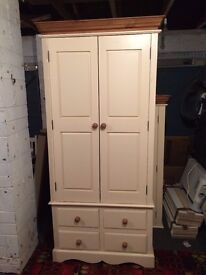 Two Wardrobes with drawers