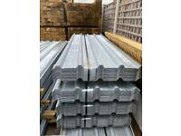 *NEW* GALVANISED BOX PROFILE ROOF SHEETS - 2.4/ 3M