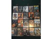 Job lot of dvds and games. 94 in total