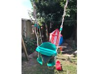 TP baby swing with belt