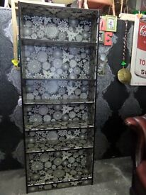 Stunning Funky Retro Large Bookcase Book Shelves Delivery