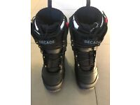 North Wave, Decade Tf3 Snowboard Boots size 9 UK Black (EUR-43.0, US-10.0)