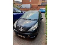 Peugeot 207 Sport 3 Door 2007 Black with low mileage for sale/spares and repairs