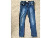 Girls River Island jeans age 10