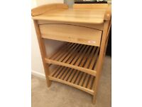 Changing table excellent condition