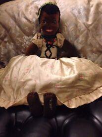 Very Rare Allwin Negro Doll