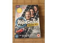 Top Gear dvd, new in cellophane wrap
