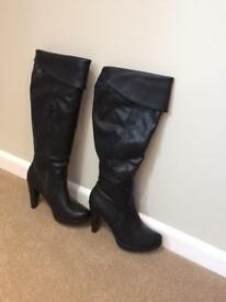 Ladies high boots by Marks and spencer