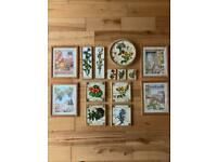 Hand Painted 3D Kitchen Plaques by M&S