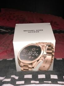 BRAND NEW SEALED * MICHAEL KORS ACCESS * ANDROID SMART WATCH * ROSE GOLD - STAINLESS STEEL * WOMEN