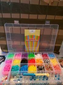 New 6000 piece loom band kit boxed