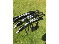 SOLD: Thule 3-bike tow bar carrier