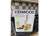 New in box kenwood food spiralizer.