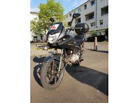2009 HONDA CBF 125 SILVER/BLACK £900