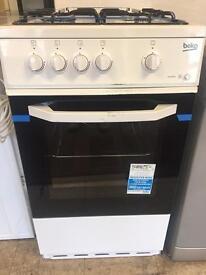 New beko gas cooker, unused