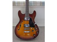 Aria Pro 2 TA-40 semi acoustic guitar - early made in Korea - Excellent condition