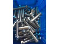140 Stainless steel bolts M12 75mm