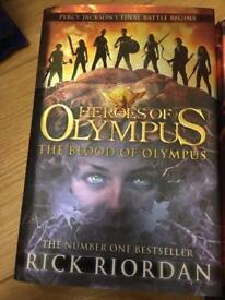 Heroes of Olympus- Percy Jackson series