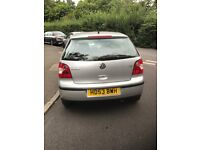 Auto Vw polo, silver, great condition, lovely little car, fast sale :)