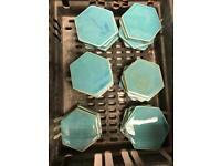 Beautiful hand made ceramic tiles