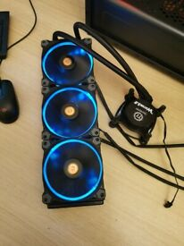 Thermaltake Water 3.0 Riing RGB AIO - LIQUID COOLER - INTEL - CPU COOLER - PROCESSOR COOLER