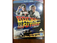 BRAND NEW,,Back to The Future 1,2,3 Blu-ray+Digital,,Sealed Box
