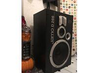 large jamo D266 speaker 265 watts