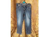 Boys jean trousers blue for 5-6 year old