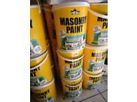 Masonry magnolia paint 5 lit