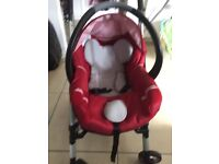 I have a lovely maxi-cosi by bebecomfort pushchair with car seat selling my