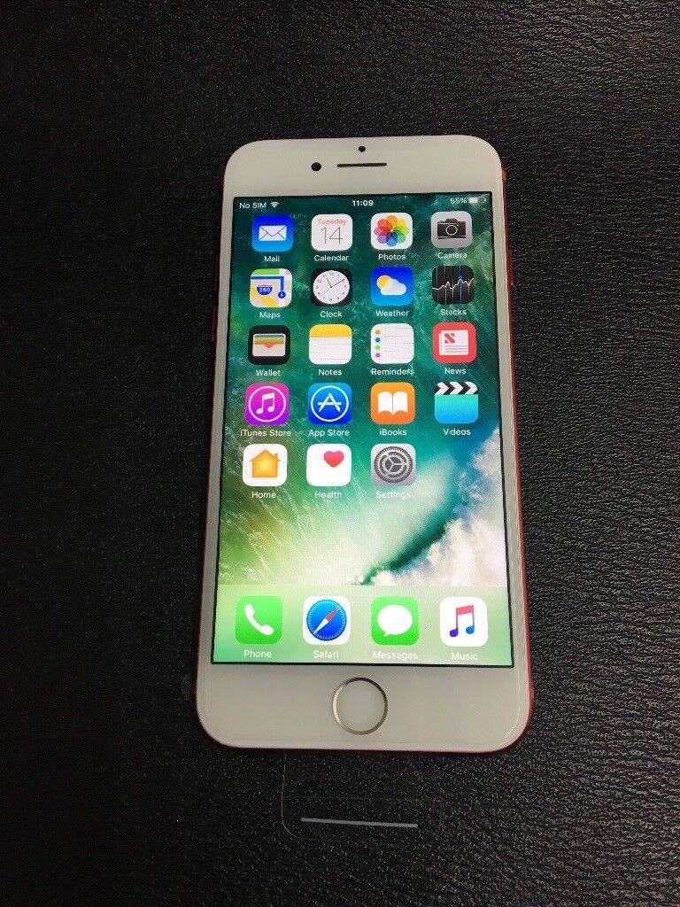 Iphone 7 128gb replacement new 7 months apple warranty