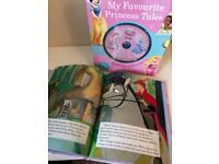 Disney Princess Read-along books with CD (New)