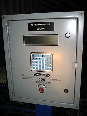 Woodward 505 Governor Steam Turbine Generator Application