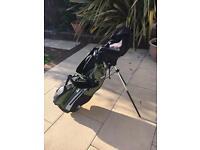 "U.S Kids Golf set , bag with stand and 6 clubs ( 57"")"