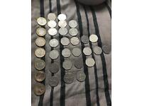 **RARE** coins ***£2 *** 50p ****