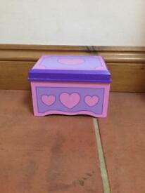 small wooden jewellery box