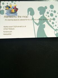 Married to the mop domestic cleaning services