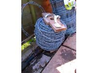 170m Top Quality Barbed Wire Galvanised - Priced to Go.