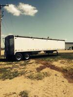 Timpte grain trailer